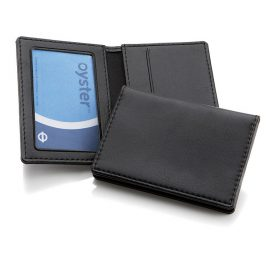 Belluno PU Oyster Travel Card Case - Plain (No branding)