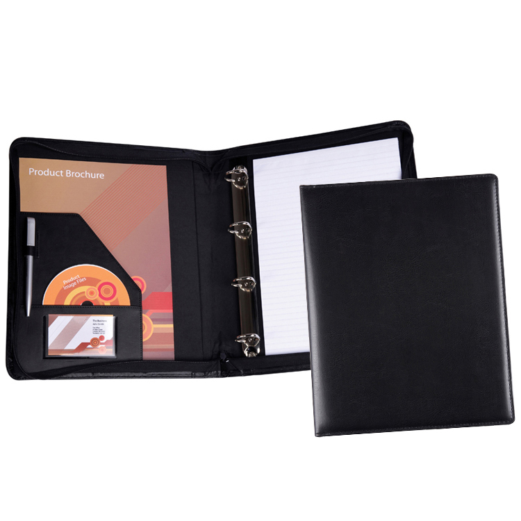 A4 Zipped Conference Ring Binder (from stock)