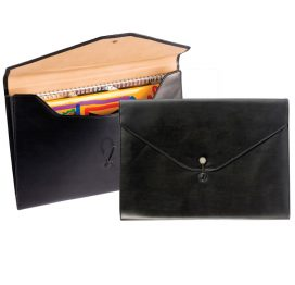5620 Lugano PU Executive A4 Underarm Folio (from stock)