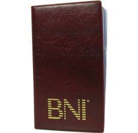 BNI Networking - Business Card Book (small)