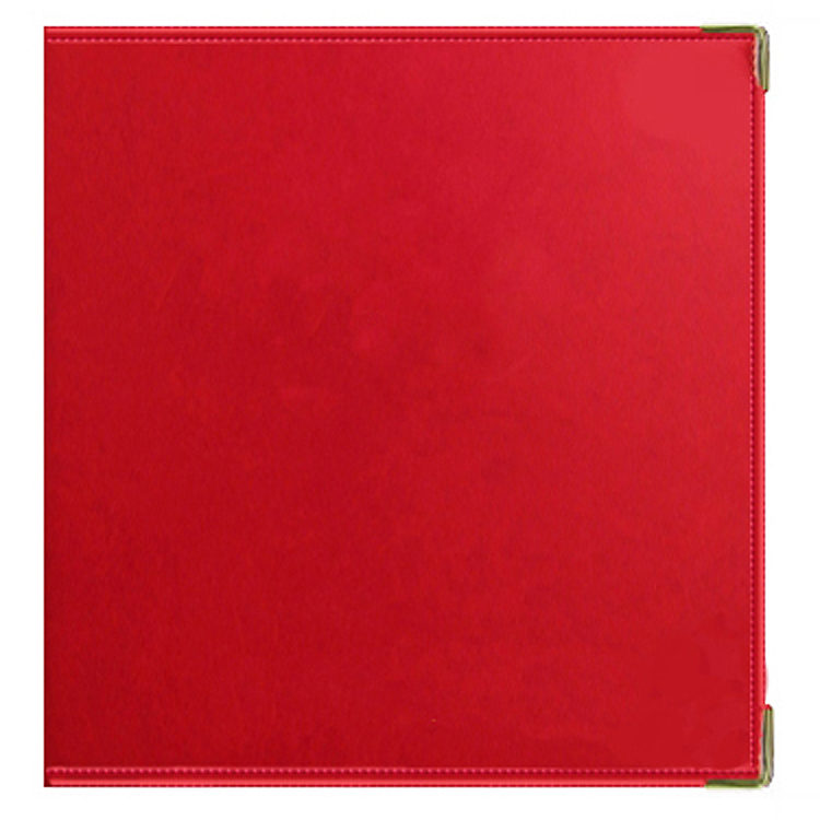 Red Photo Album / Scrapbook