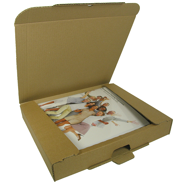 A4 Ring Binder Postal Carton – up to 50mm spine