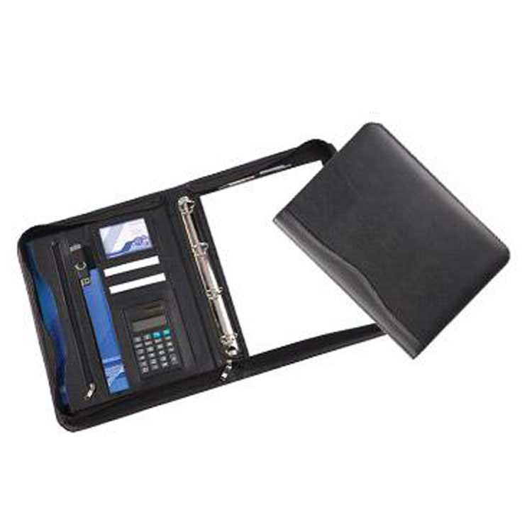 Deluxe A4 Zipped Ring Binder (from stock)