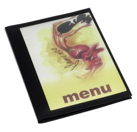 Print On Demand Menu Cover