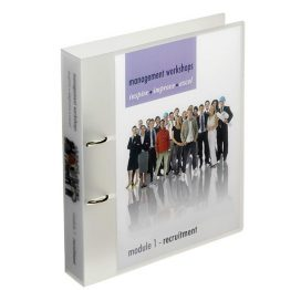 Print On Demand - A4+ Ring Binder 40mm Ring 'Snap Lock' Cover