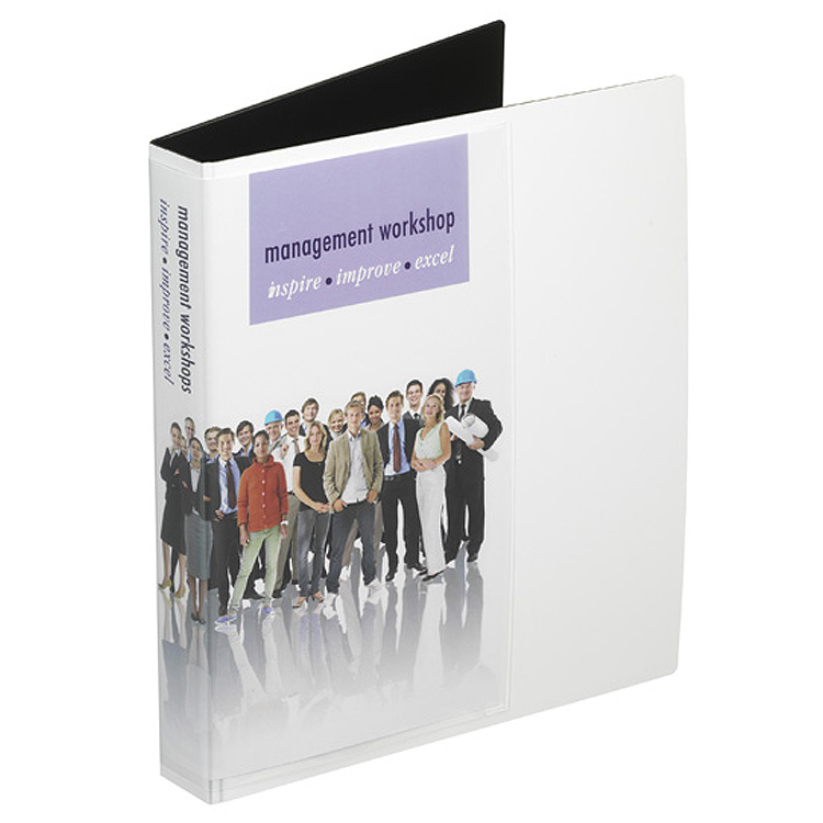 A4 'Tuff' Ring Binder – A4 Display Pocket to Front & Spine