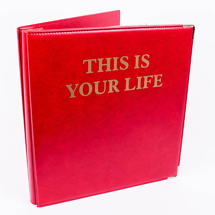 The Big Red Book - Photo Album / Scrapbook