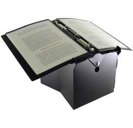 Portable BNI Lectern Plus Ring Binder