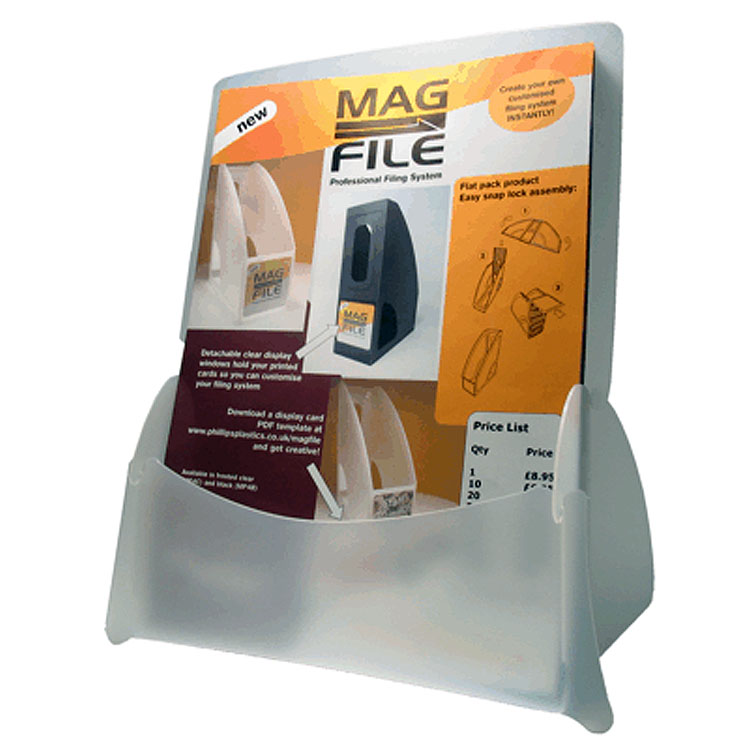 A4 Leaflet Holder / Leaflet Dispenser – Plain or Printed