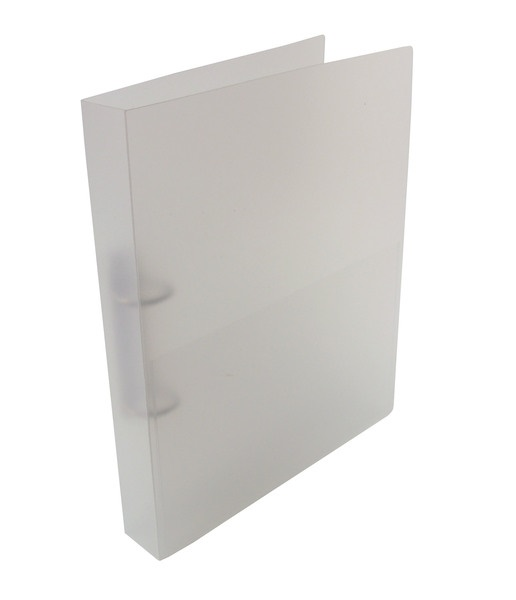 A4+ Frosted Clear Polypropylene Binder 2D or 4D 25mm Ring Mechanism