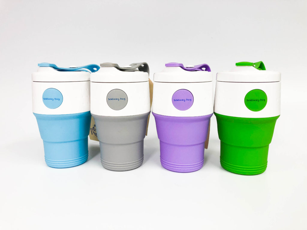 Schtinky Dog Collapsible Travel Mug