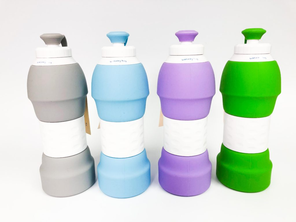 Schtinky Dog Collapsible Water Bottle