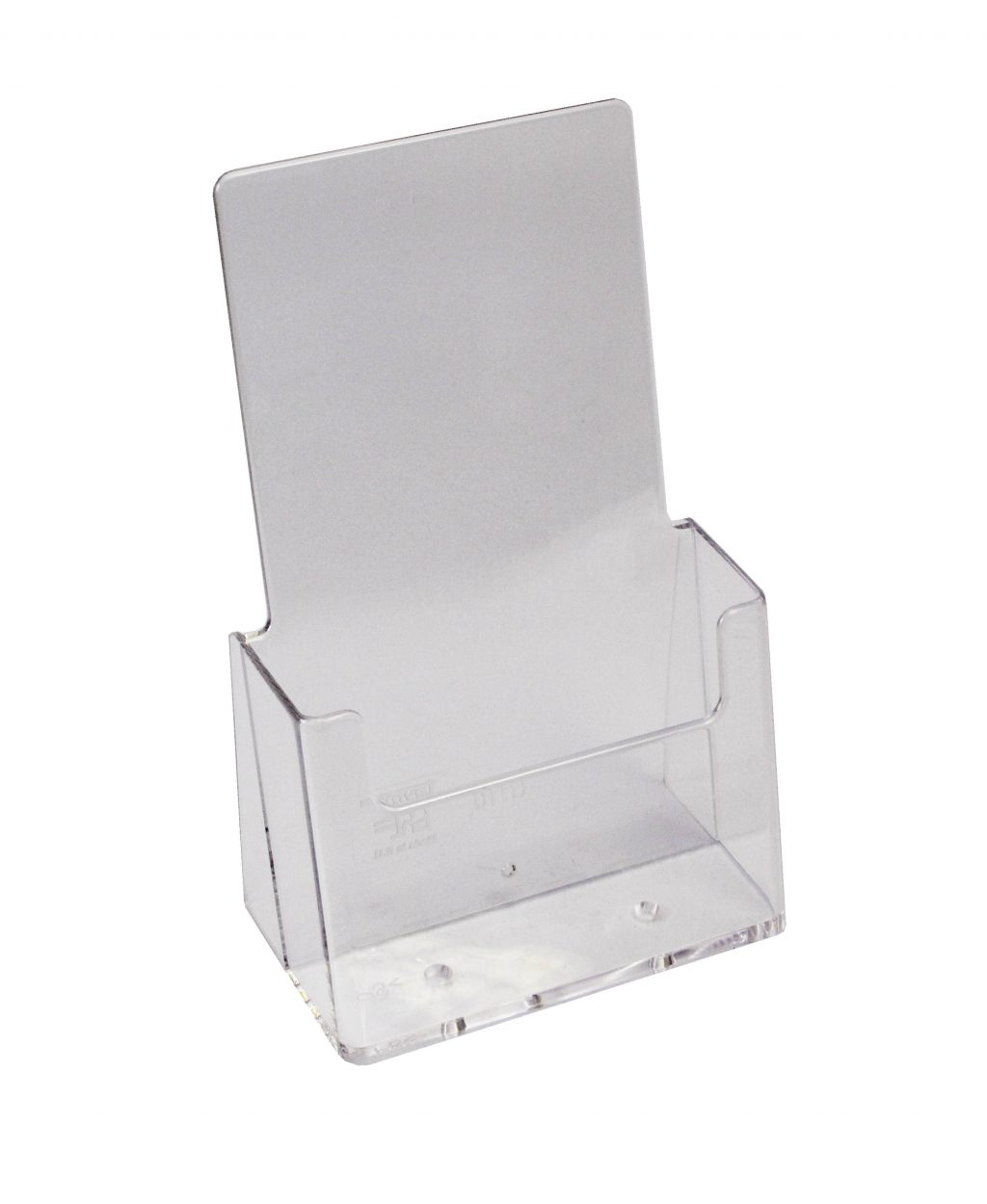 Clear Acrylic Trifold Leaflet Holder